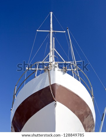 Bow of a tallship