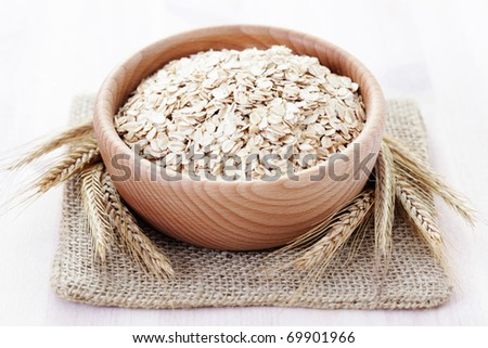 bowl full of oats - food and drink