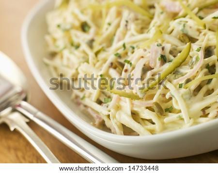 Bowl of Celeriac Remoulade Photo stock ©