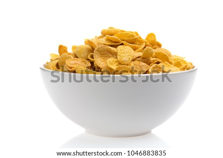 Bowl of Cornflakes #1046883835