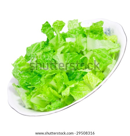 bowl of green salad