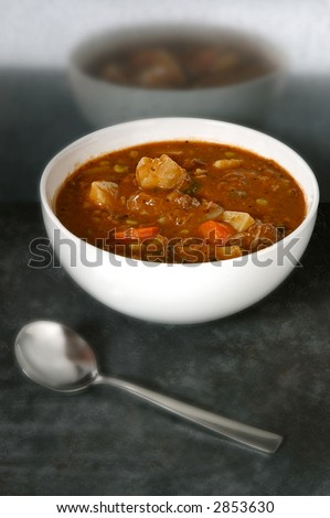 bowl of hearty beef stew