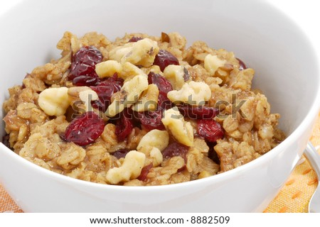 Oatmeal With Dried Cherries And Pistachios Recipes — Dishmaps