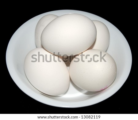 Bowl of Omega three eggs