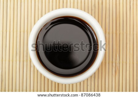 Bowl of Soy Sauce