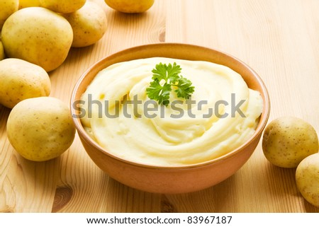 Mashed Potatoes Bowl Bowl With Mashed Potatoes