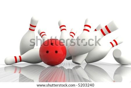Bowling - Exact hit