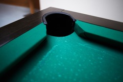 bowling game room football table vintage