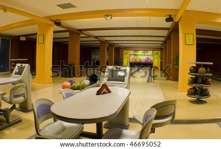 bowling hall