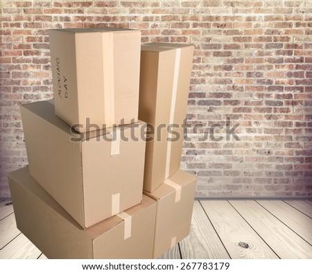 Box, Moving Office, Cardboard Box.