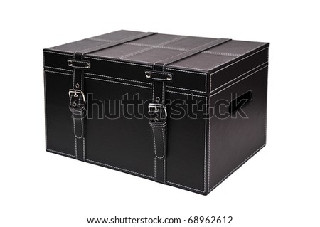 box picture, trunk skin decoration  with white bottom