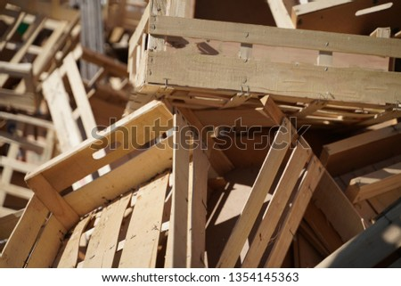 Box Wooden box Box Transport box #1354145363