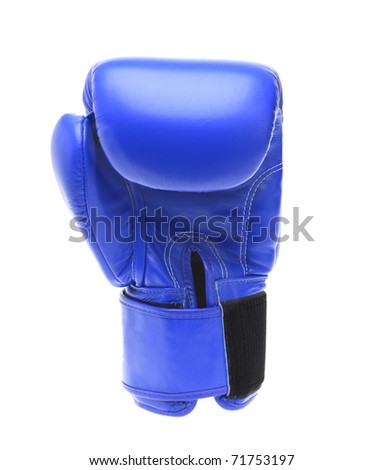 Boxing glove isolated on a white background