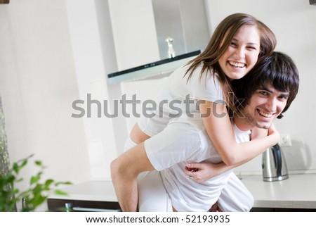 Boy and nice girl