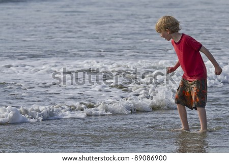Boy And The Surf