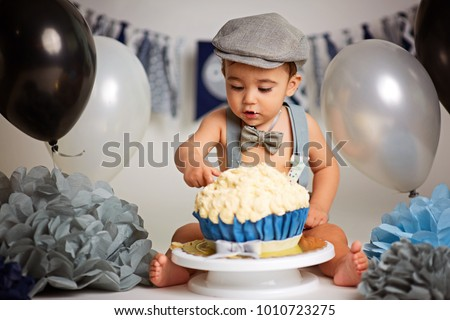 Photo of  Boy Birthday Cake Smash