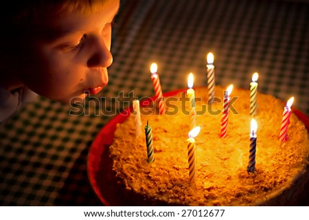 blow candles