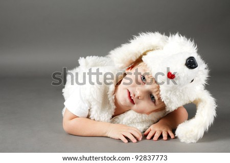 boy dressed as a dog