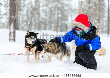 Finland Lapland, family Christmas holidays