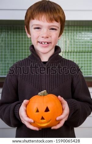 Boy holding a Jack