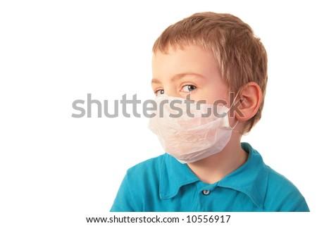 boy in respirator #10556917
