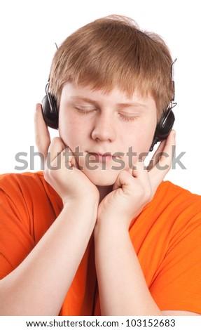 boy listen music