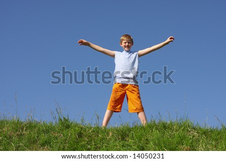 boy outdoor