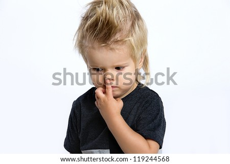 how to stop kids from picking their nose