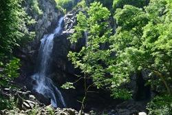 Boyana waterfall at Vitosha mountain,Sofia,Bulgaria