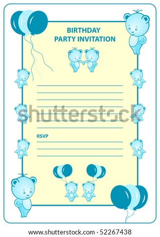 stock-photo-boys-birthday-party-invitation-card-with-blue-cartoon-bears-and-balloons-vector-also-available-52267438.jpg