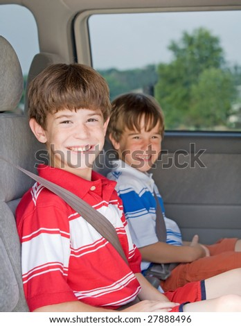 Boys in a Van
