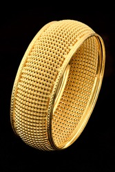 Bracelet from pure gold