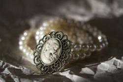 bracelet on the white background