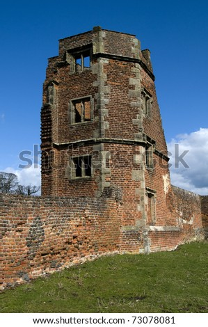 Bradgate House The Birthplace of Lady Jane Grey in Charnwood Forest,Leicestershire, England