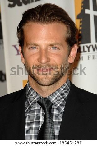 Bradley Cooper at The Hollywood Film Awards, Beverly Hilton Hotel, Beverly Hills, NY October 26, 2009