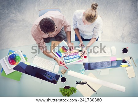 Brainstorming Planning Partnership Strategy Workstation Business Adminstratation Concept #241730380