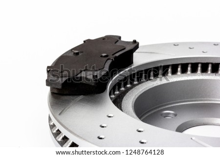 Brake disc and brake pad combination #1248764128