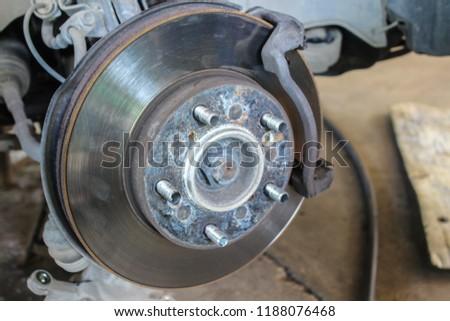 Brake discs with brake discs. #1188076468