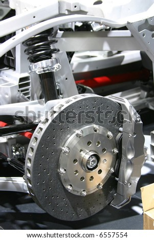 Brakes and suspension