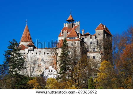 Bran Castle, landmark of Romania