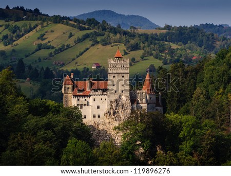 Bran Castle, Transylvania - stock photo