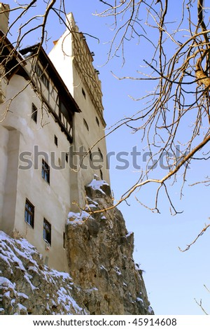 Bran Castle Transylvania Romania.