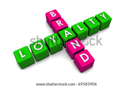 Brand Loyalty of a Product or Company in 3D