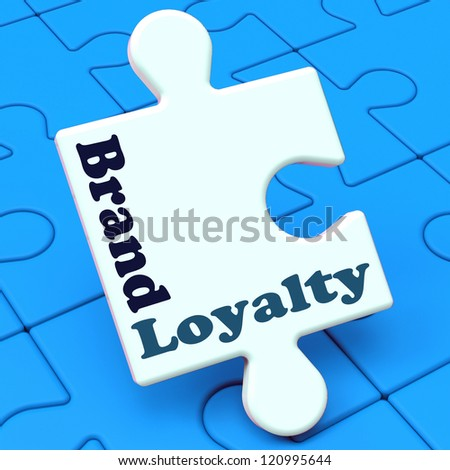 Brand Loyalty Showing Customer Confidence Preferred Brand name