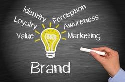 Brand - Marketing Concept