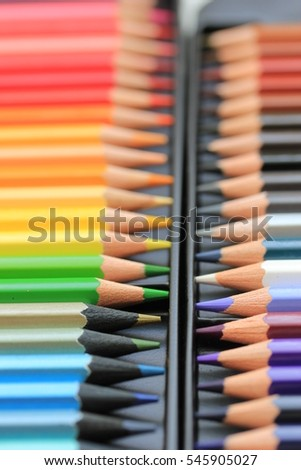 Brand new unused color pencils in box #545905027