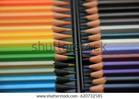 Brand new unused color pencils in box #620732585