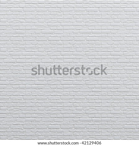 Brand new white apartment building wall