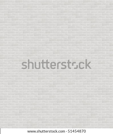 Brand new white apartment building wall - stock photo