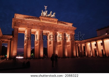 Brandenburg Gate at Dawn
